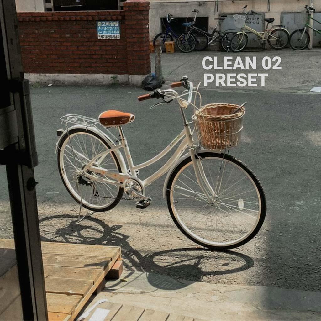Clean 02 preset Lightroom Preset