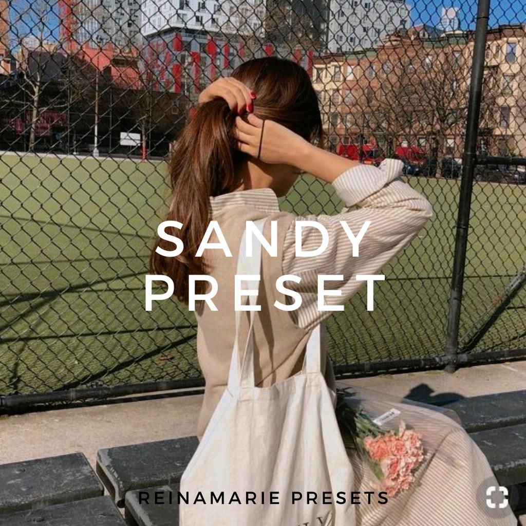 Sandy Lightroom Preset- Lightroom Preset