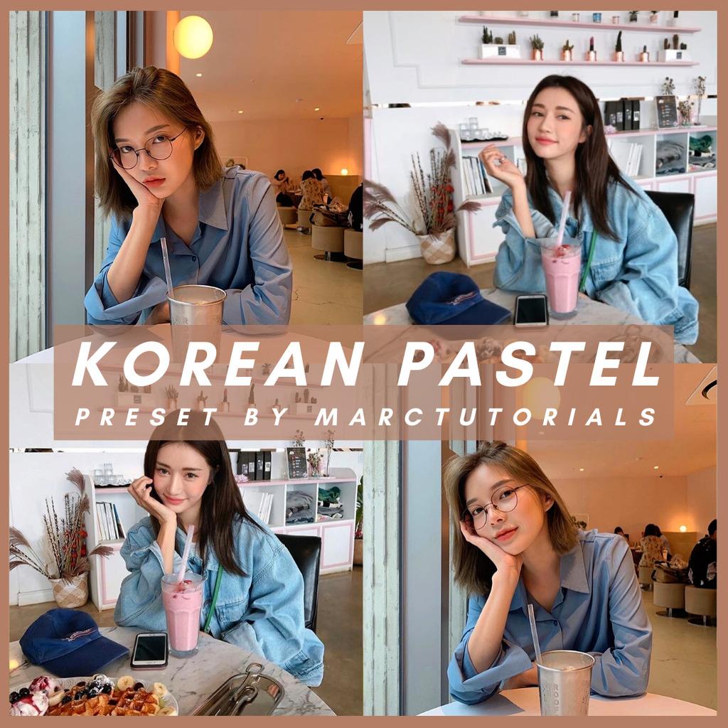 korean pastel- Lightroom Preset