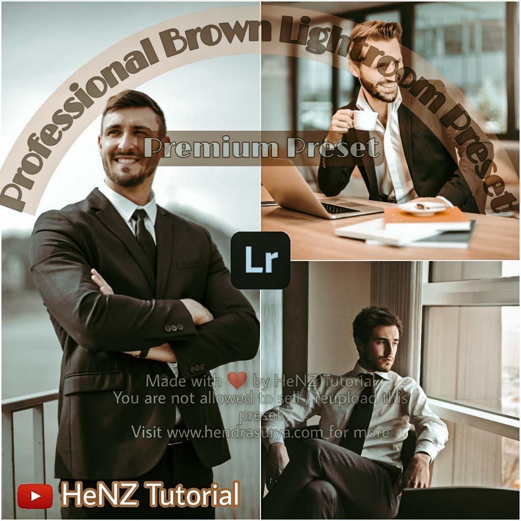 Professional Brown Lightroom Preset Lightroom Preset