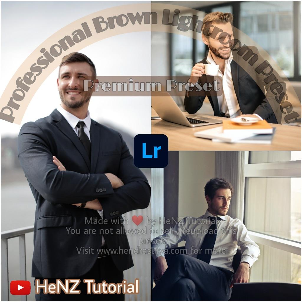 Professional Brown Lightroom Preset- Lightroom Preset