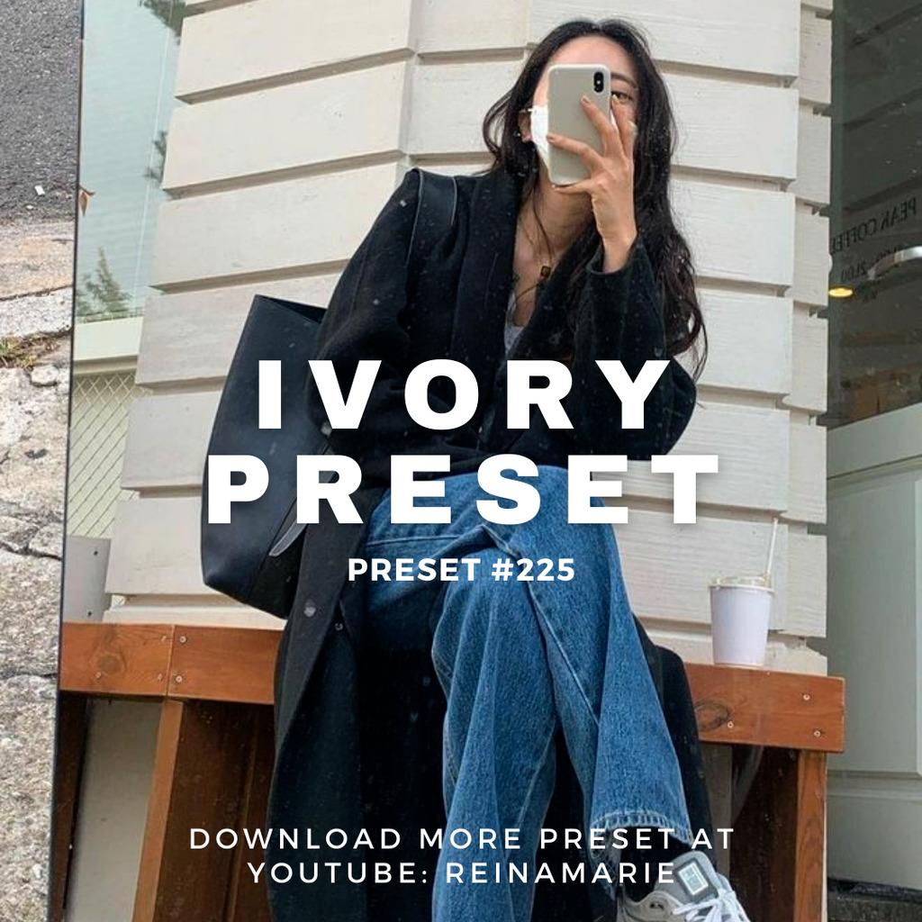 Ivory Lightroom Preset- Lightroom Preset