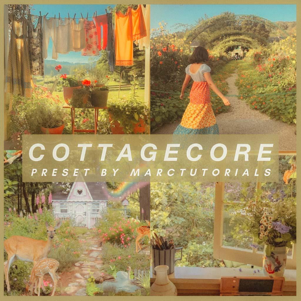 cottagecore- Lightroom Preset