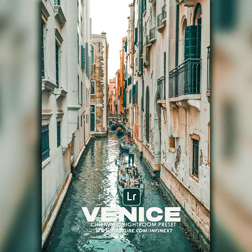 Venice Cinematic Preset Lightroom Preset